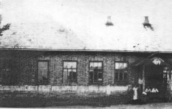Здание Покровской земской школы, построенной в 1915 году